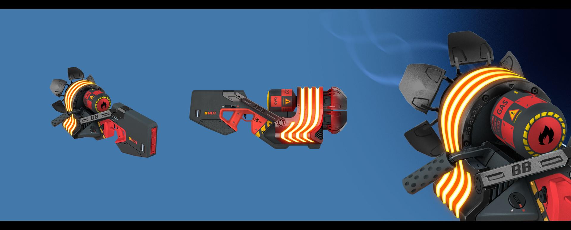 Sergey grunin burning sulfur concept premium