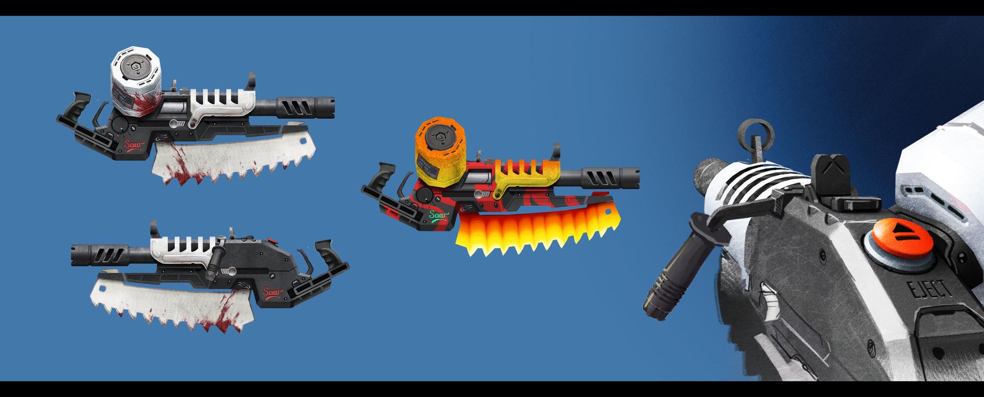 Sergey grunin gun shield machine concept