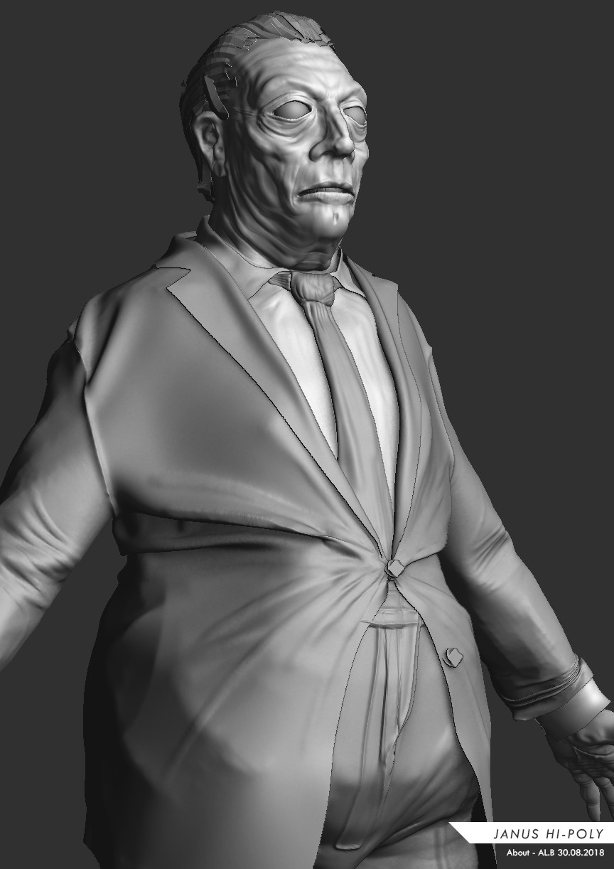 Janus Jones Character Concept 2018