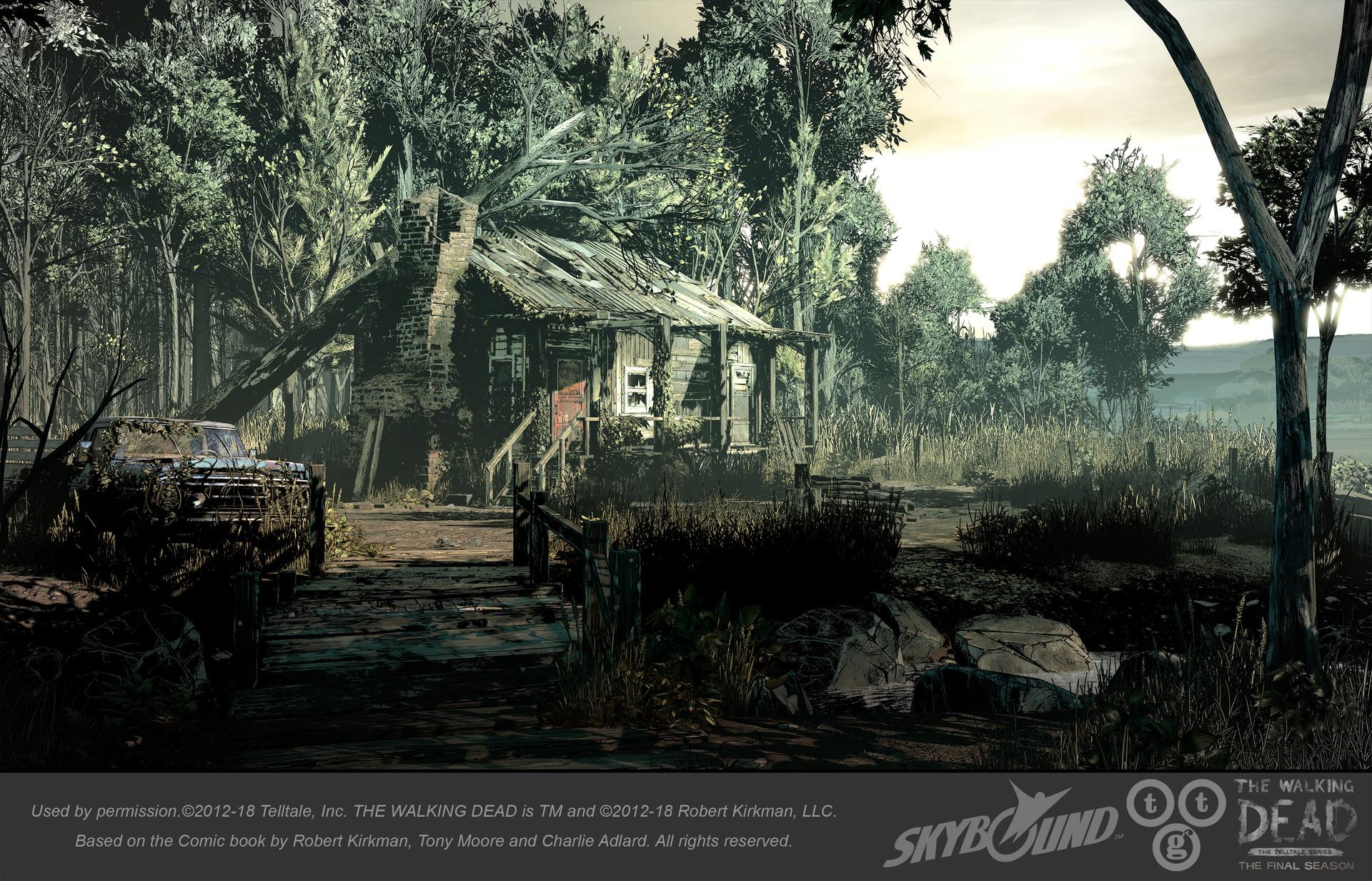 ArtStation - The Walking Dead - The Final Season: Forest