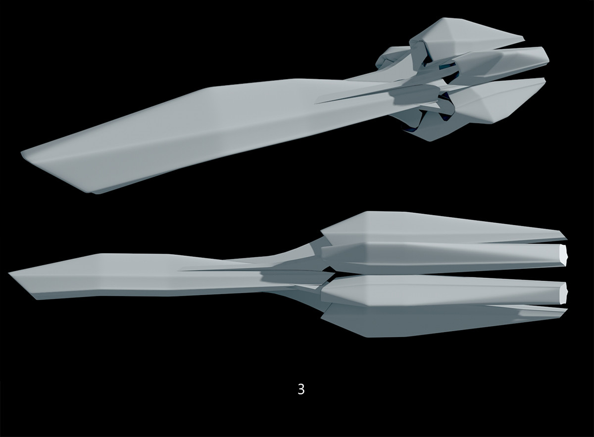 Glenn clovis ship concept 3