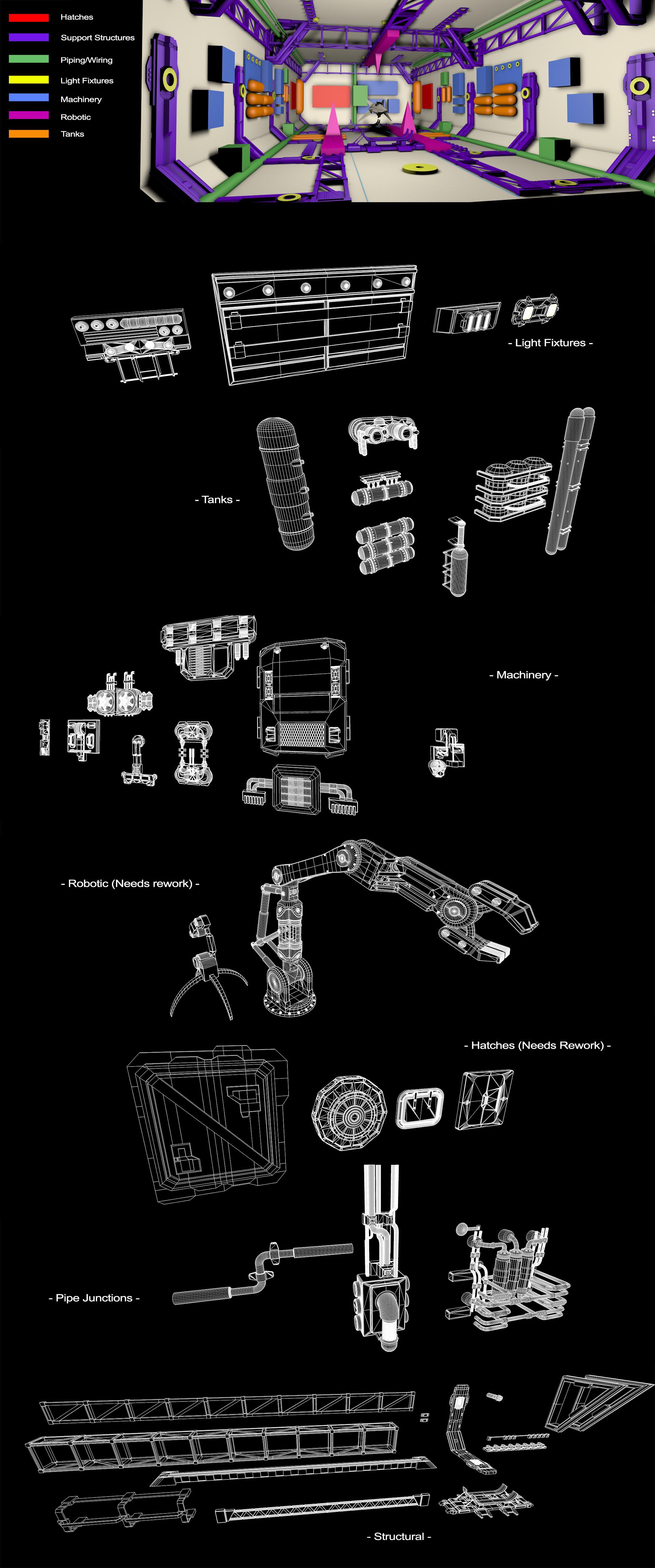 Glenn clovis hangar basic layout