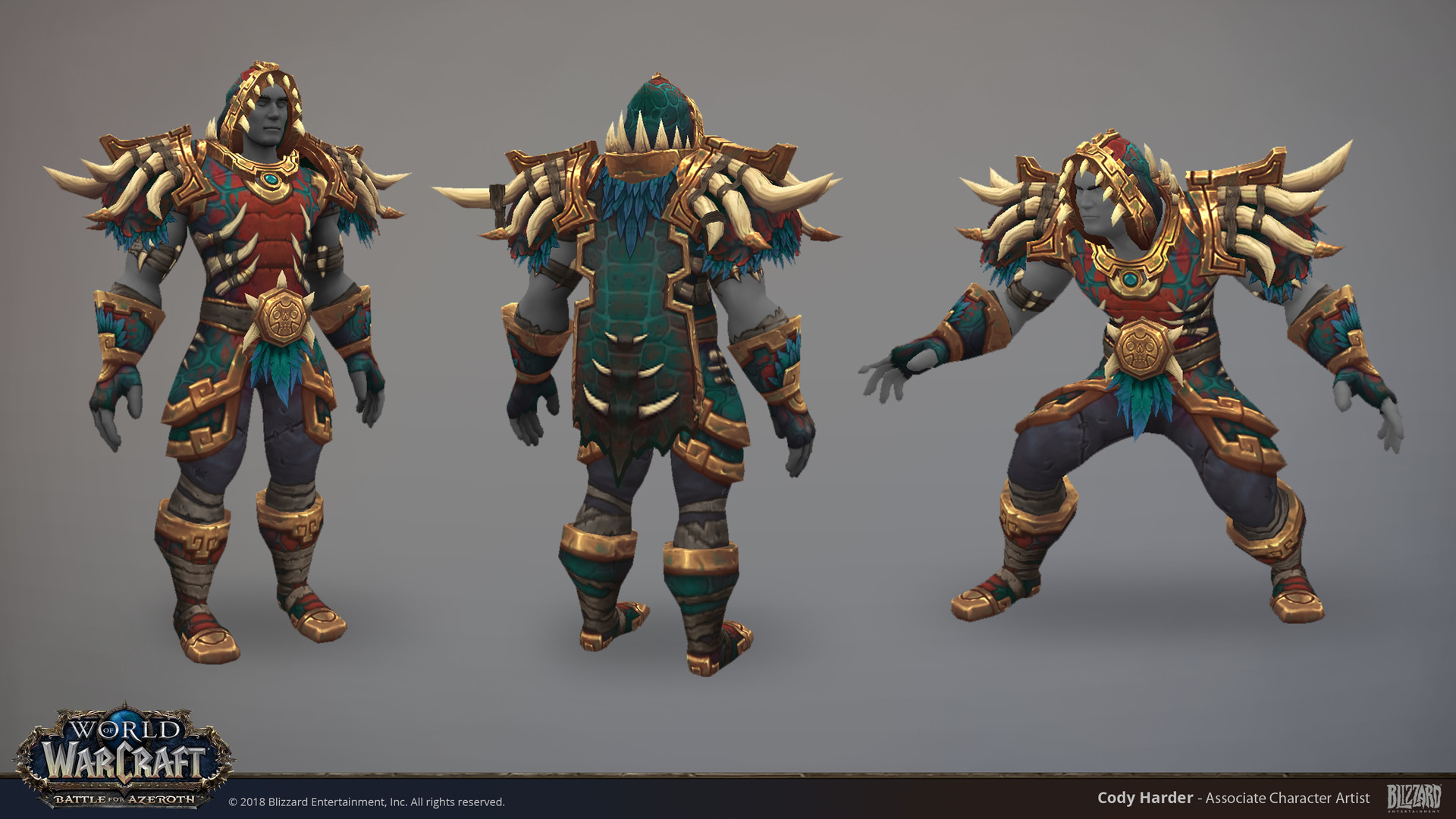 Style example from World of Warcraft - Art by Cody Harder