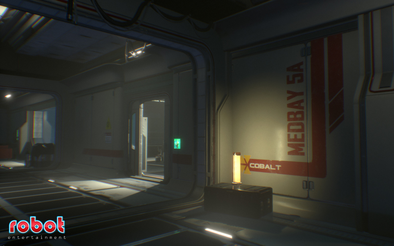 Main corridor area
