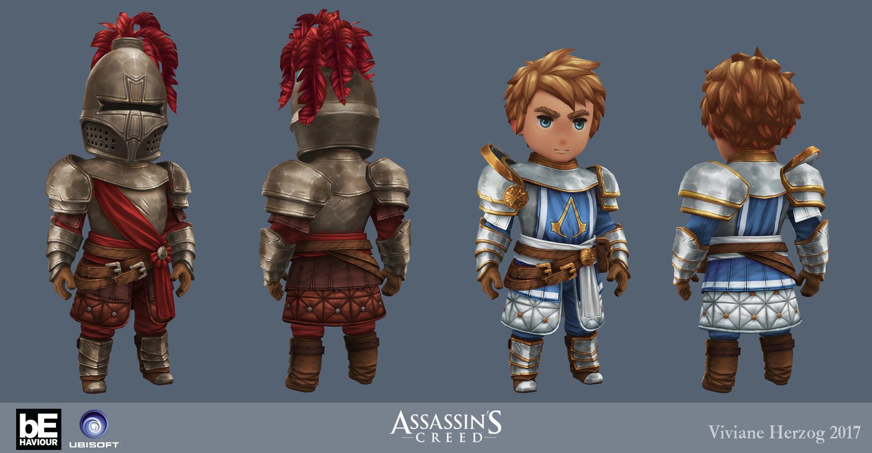 Artstation Assassin S Creed Rebellion Viviane Herzog