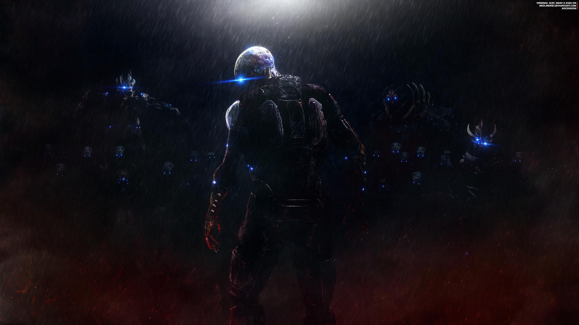 Artstation Ascension Mass Effect Trilogy Wallpaper 4k