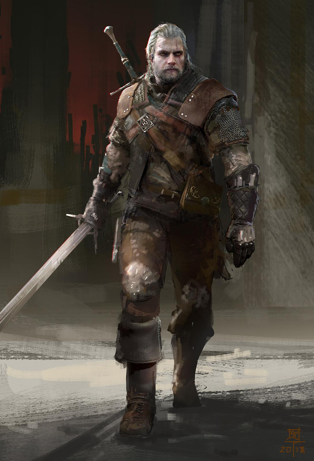 Geralt: Cavill Edition