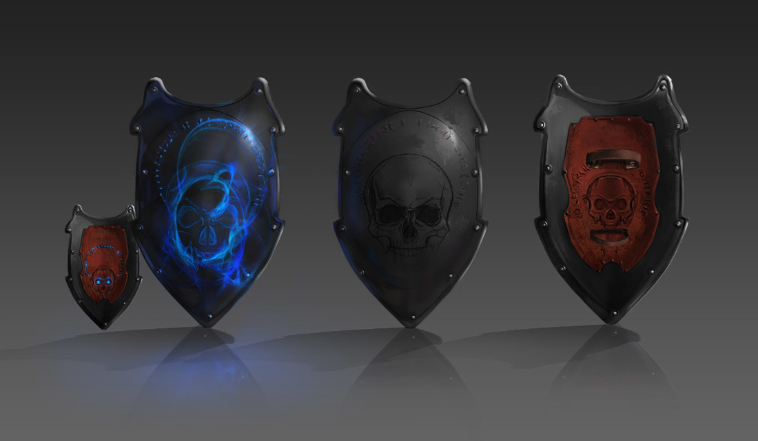 Consuelo pecchenino dark shield