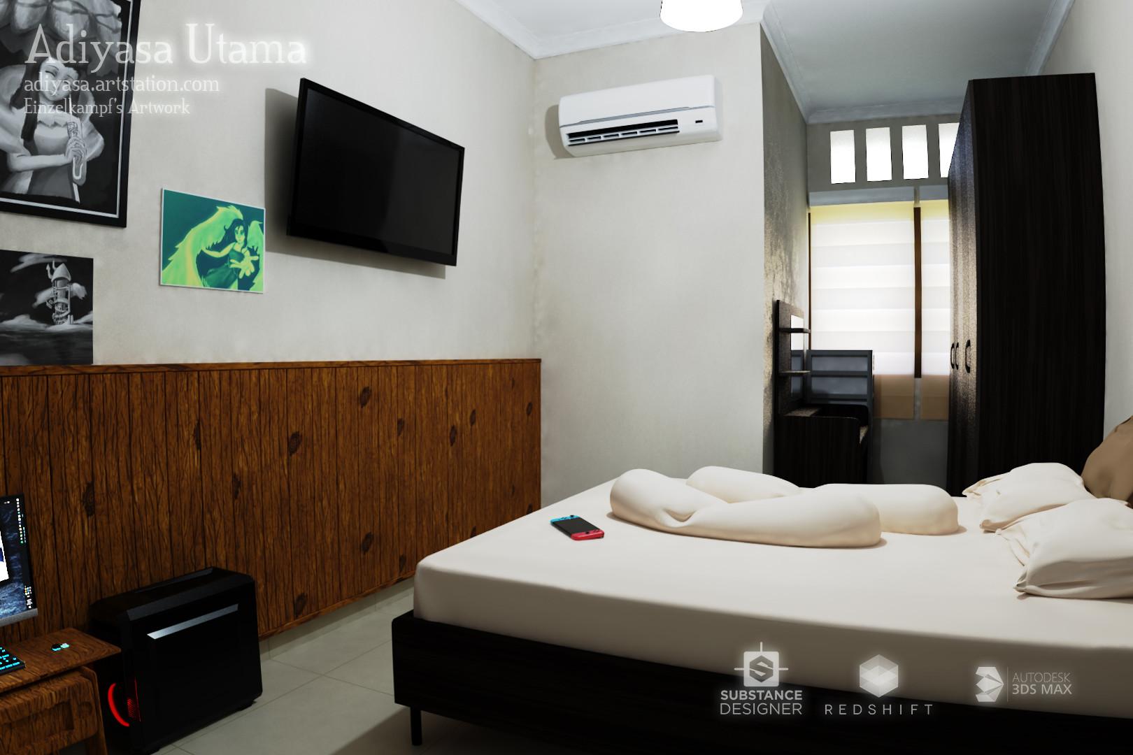 ArtStation - Bedroom, Adiyasa Utama