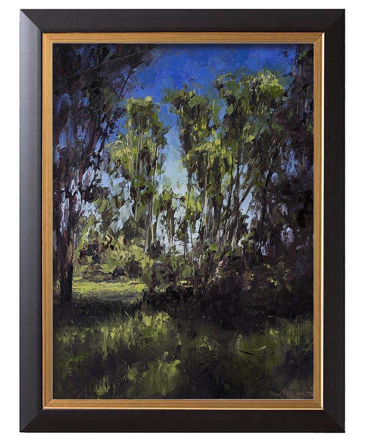 Arthur haas summer trees framed small