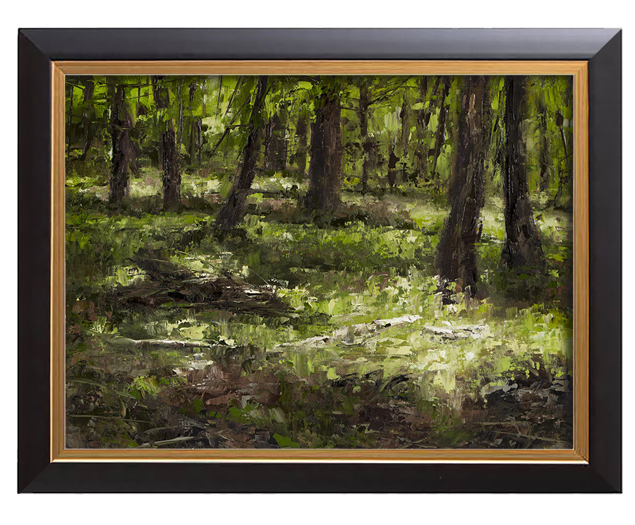 Arthur haas sun dappled framed small