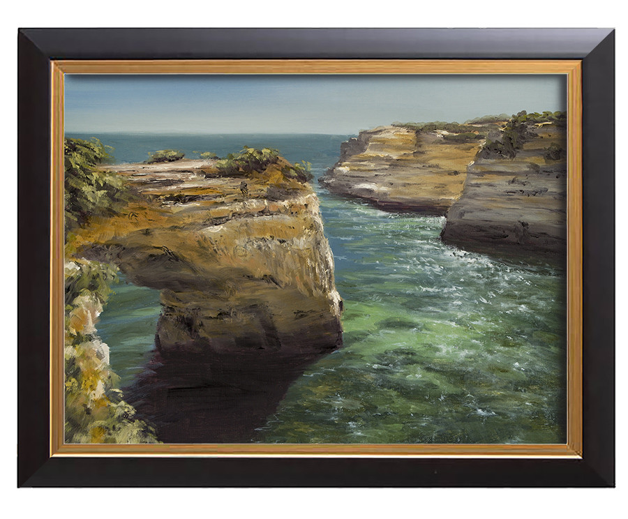 Arthur haas arch of algarve framed small