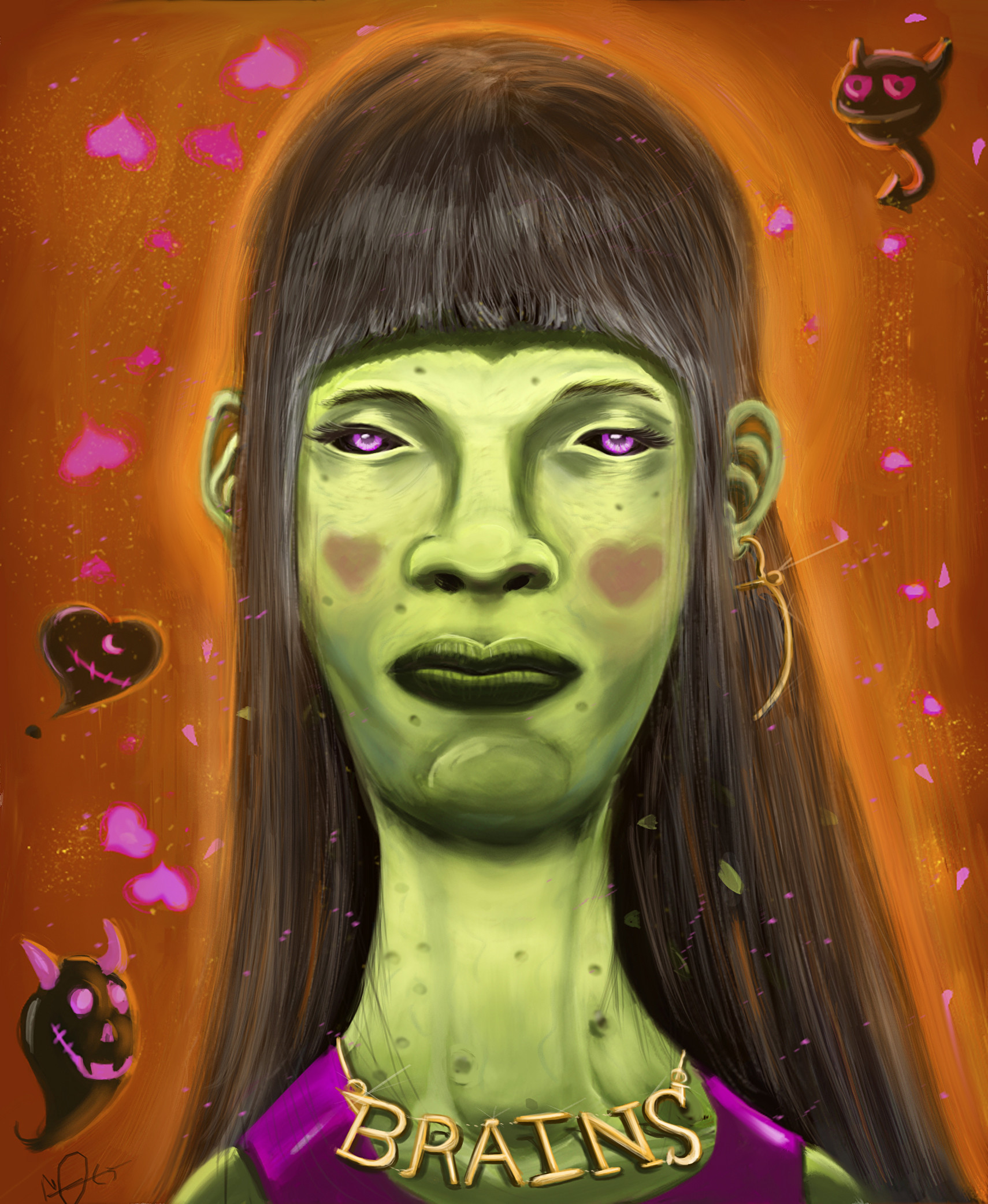 Moe murdock zombie girl v2 finished