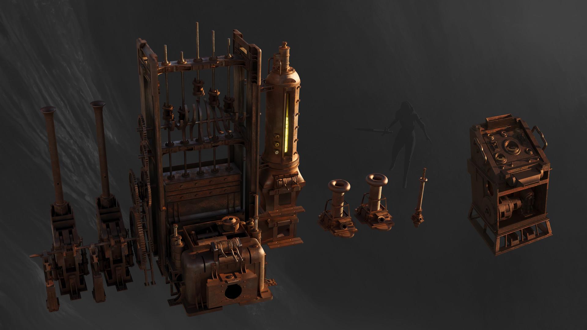 Chander lieve machines