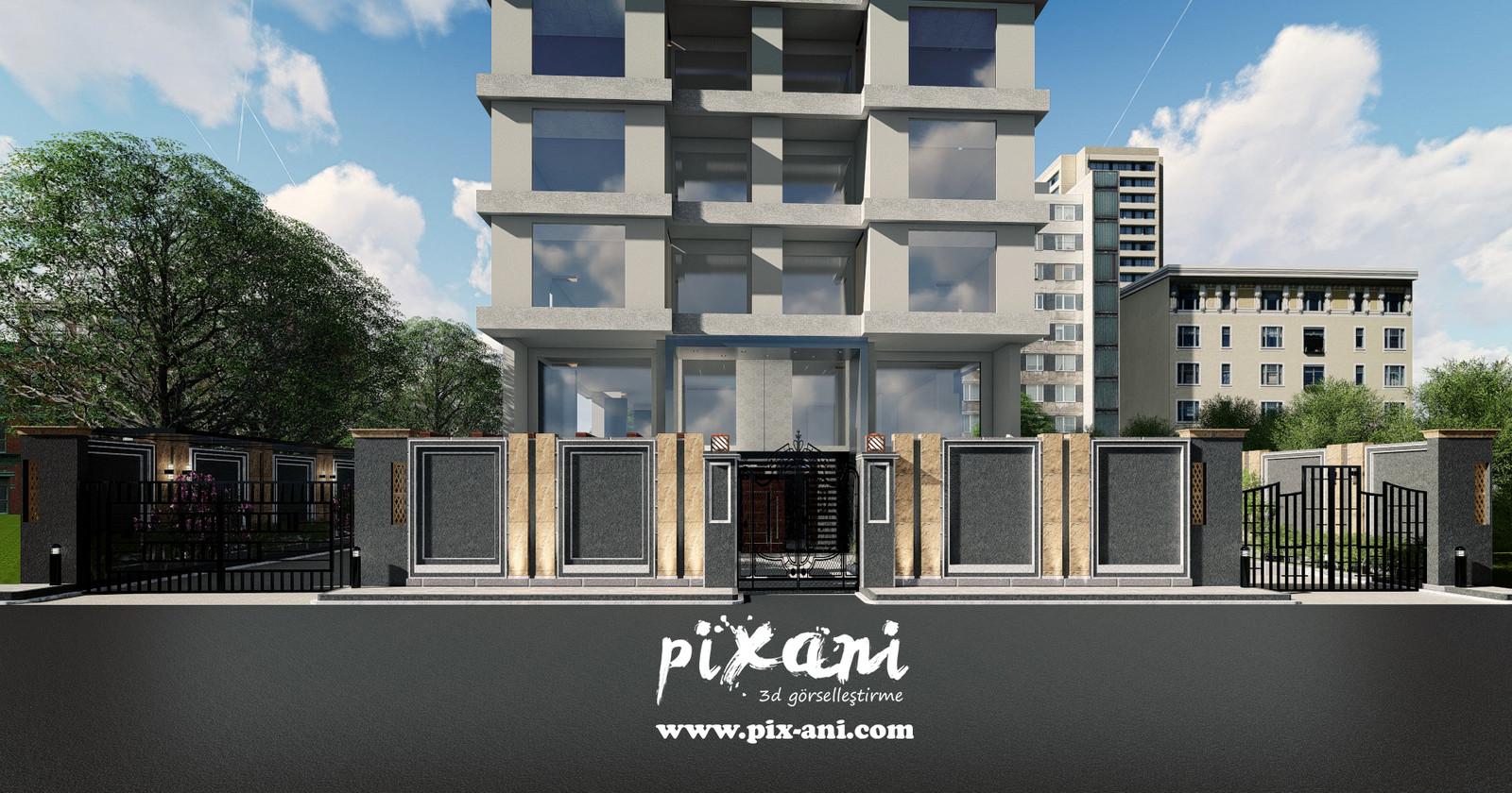 Architect & CG Artist : Serdar Çakmak rendered and designed in Pixani Studios www.pix-ani.com