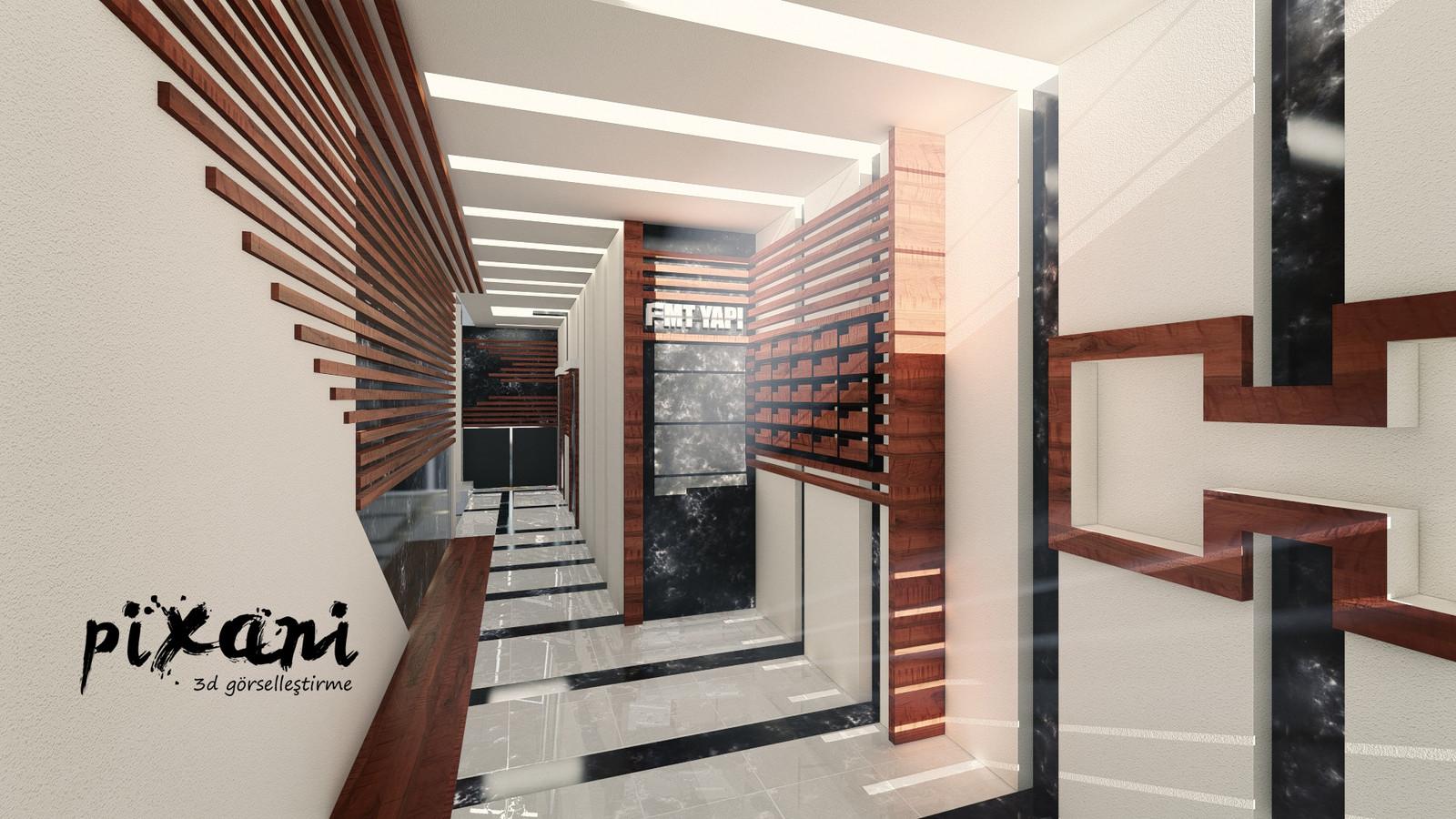FMT BUILDING ENTRANCE & LANDSCAPE & KITCHENs & BAHTROOMs DESIGNING