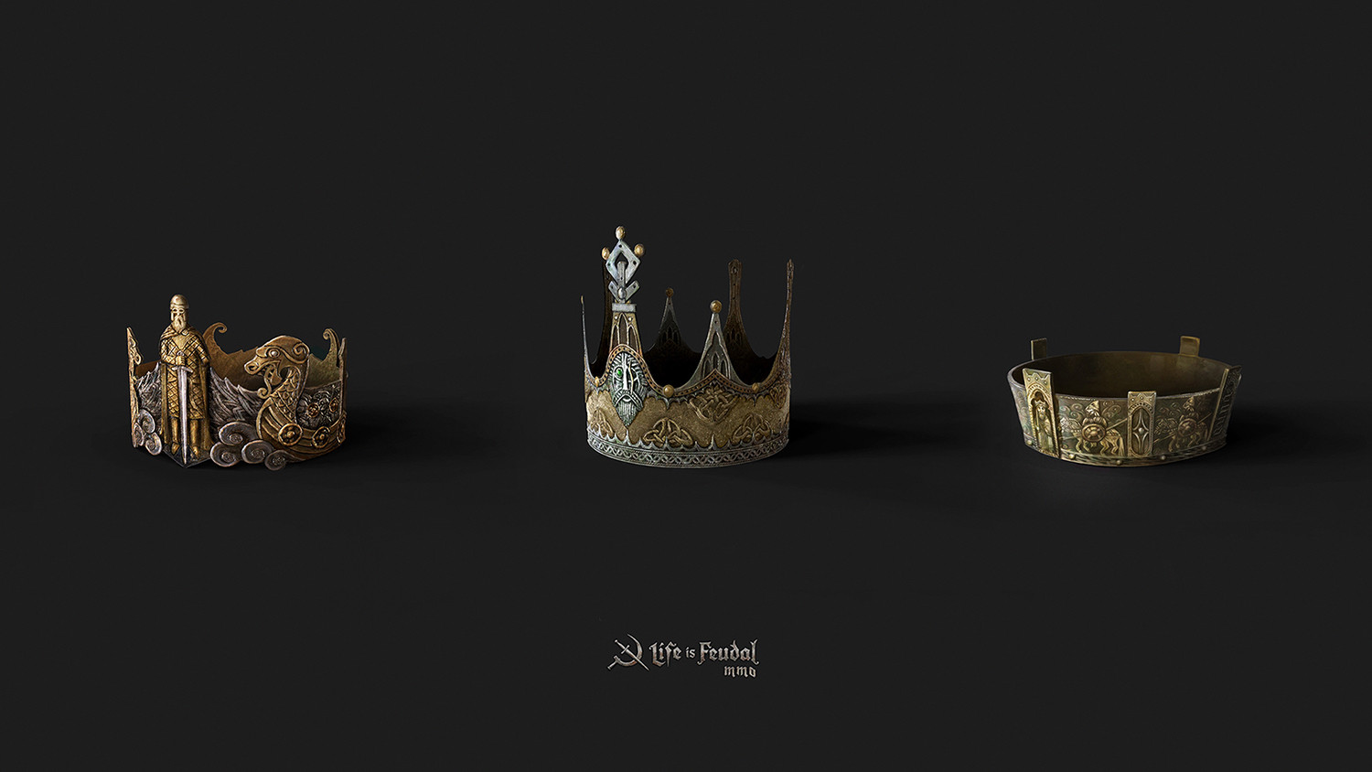 Life is Feudal - Crowns & Weapons
