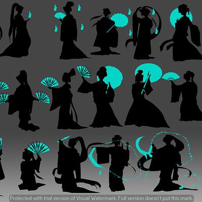 Sophie elisabeth nightingale silhouettes