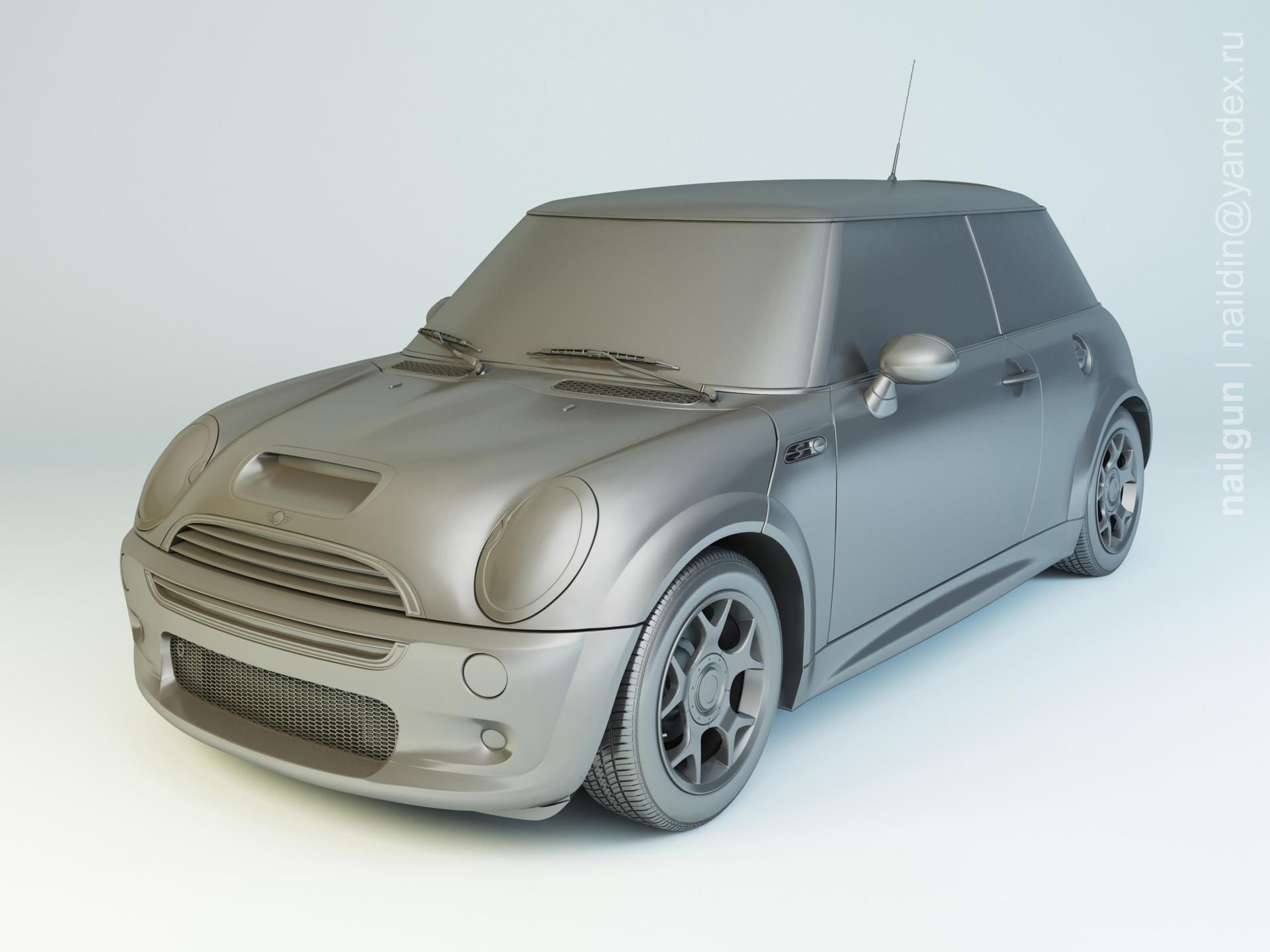 Nail khusnutdinov pwc 040 001 mini cooper modelling 0