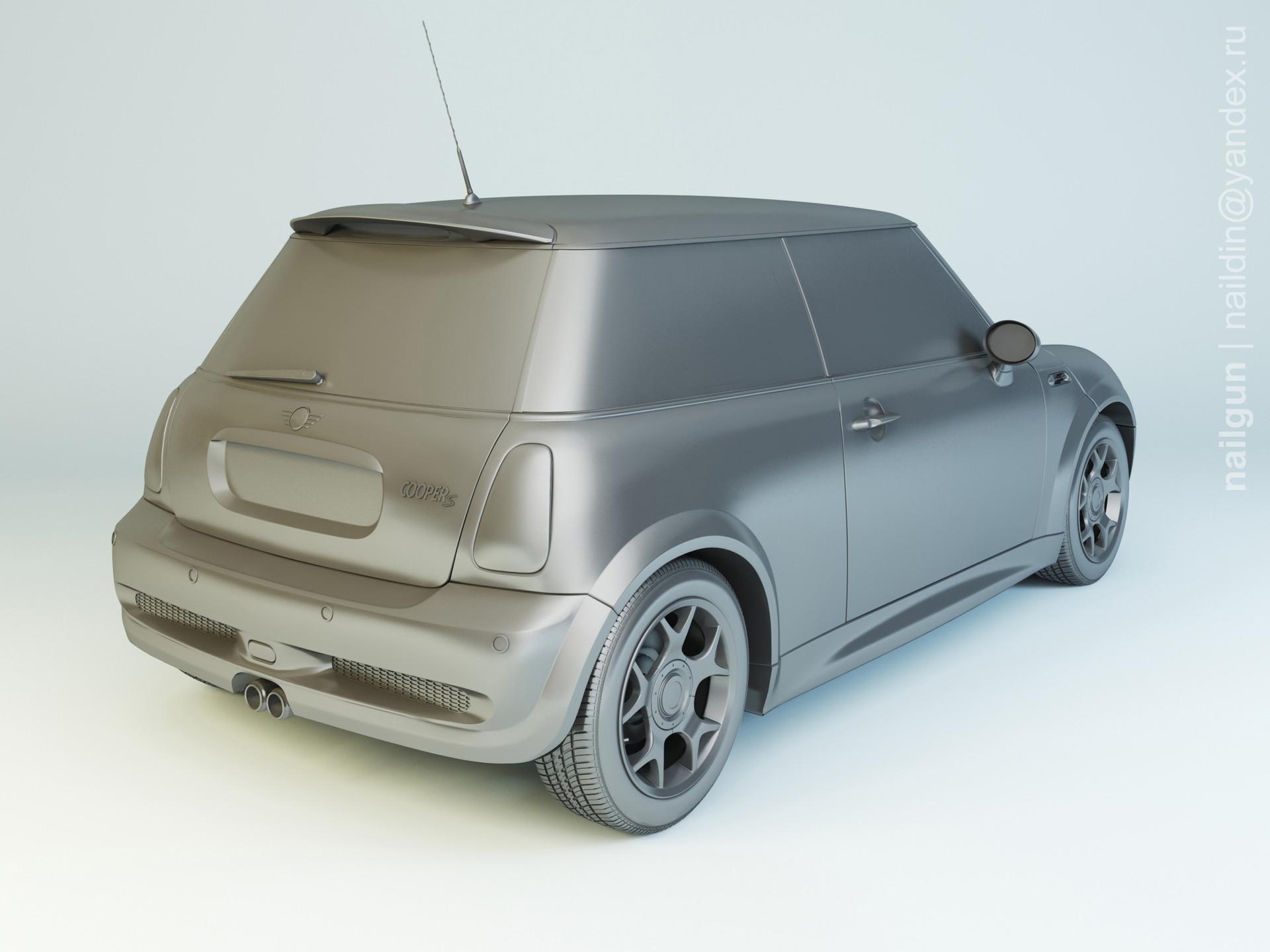 Nail khusnutdinov pwc 040 001 mini cooper modelling 1