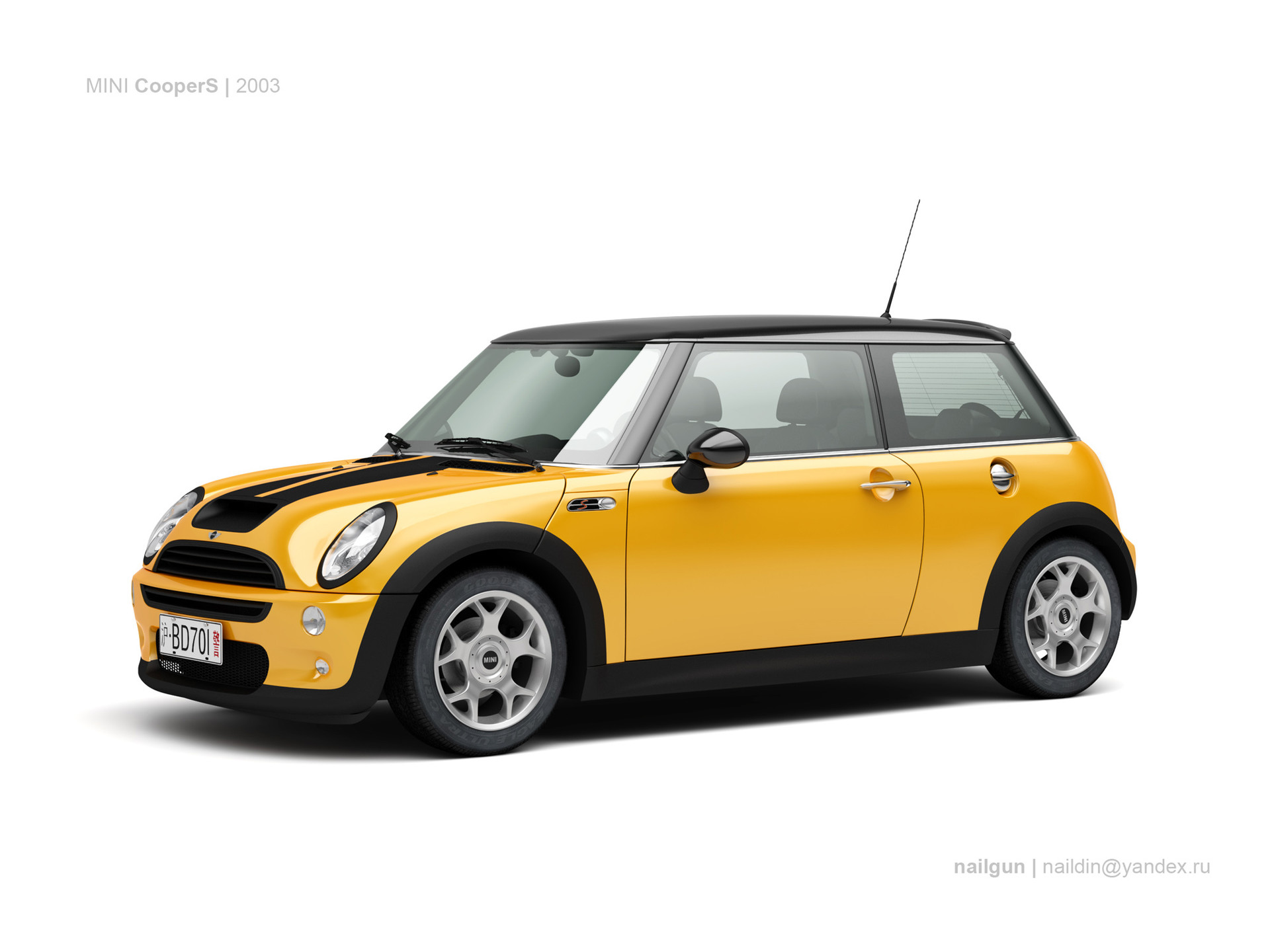 Nail khusnutdinov gb mini coopers 03 0
