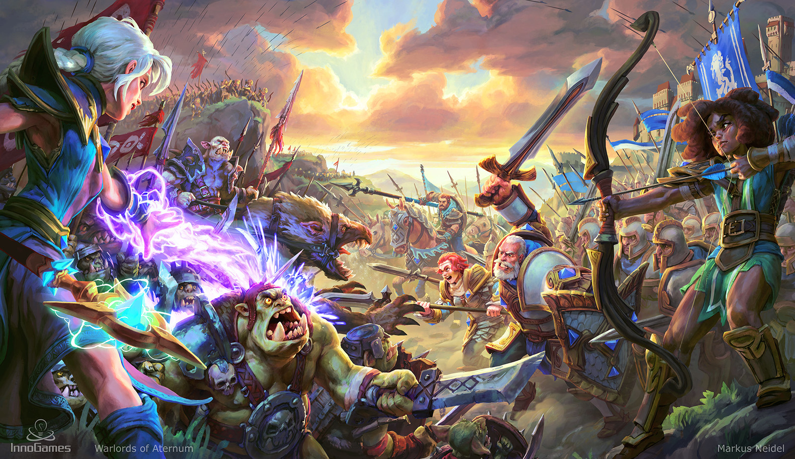 Warlords of Aternum - Key Art