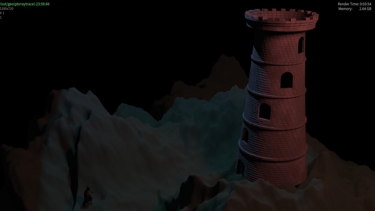 Minal kalkute tower first frame