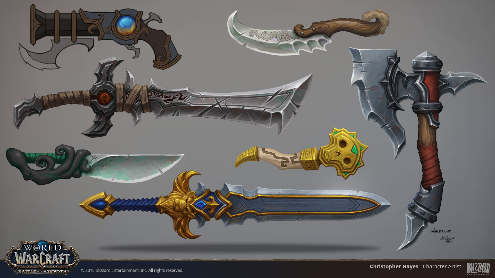 Christopher hayes bfa weapons