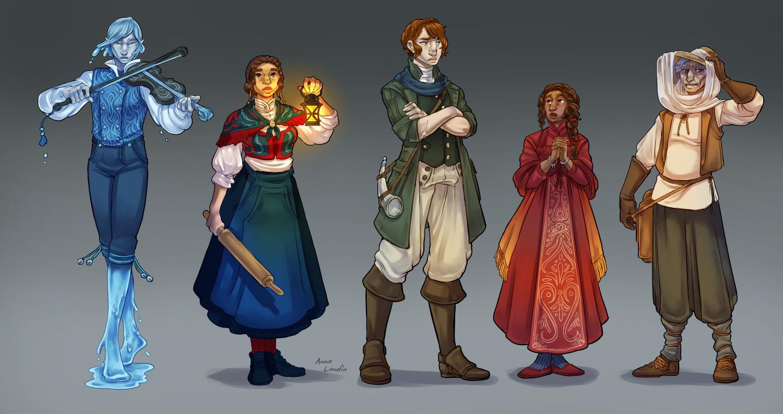 Anna landin river character lineup