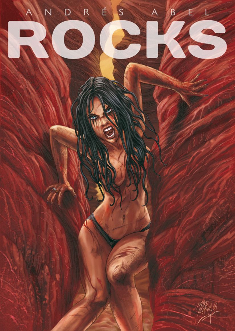 Mike ratera rocks cover logo