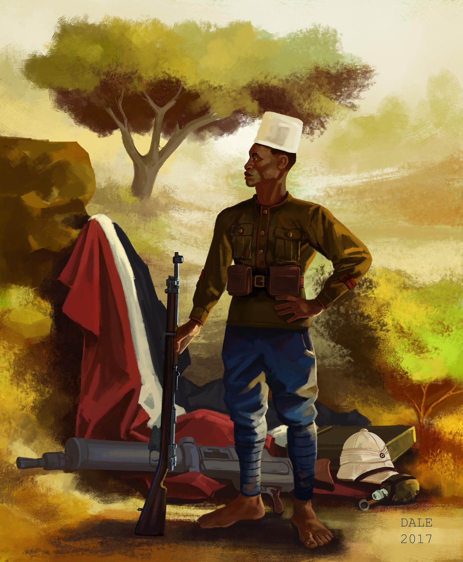 ArtStation - WWI Era Belgian Congo Askari , Cassy Dale
