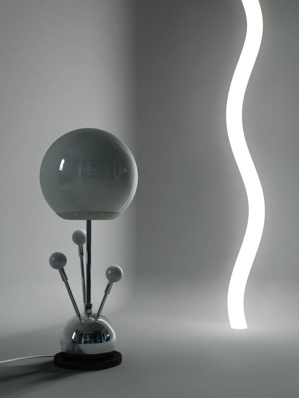 Abstract Lamp
