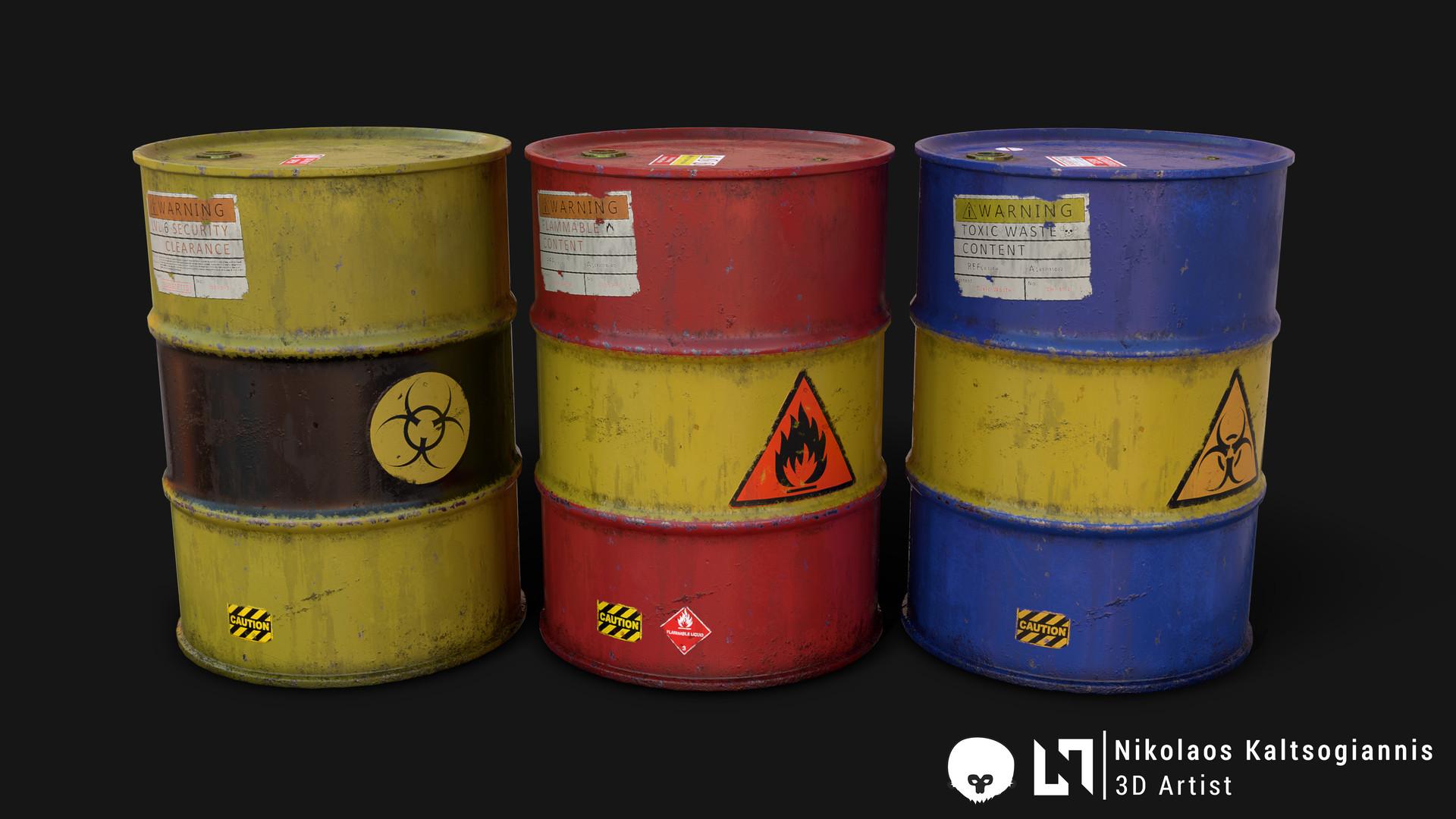 Nikolaos kaltsogiannis steel barrel 03
