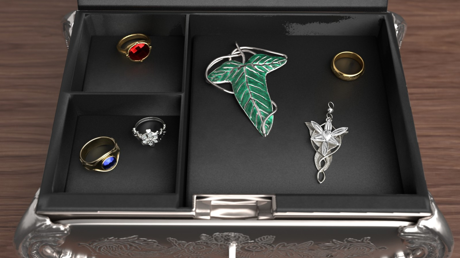 Cosplayer's jewellery box