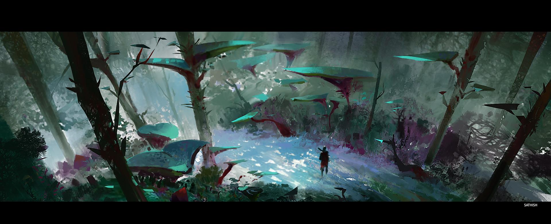 Environment design sketch 02