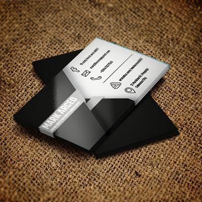 Mark arceo b card front