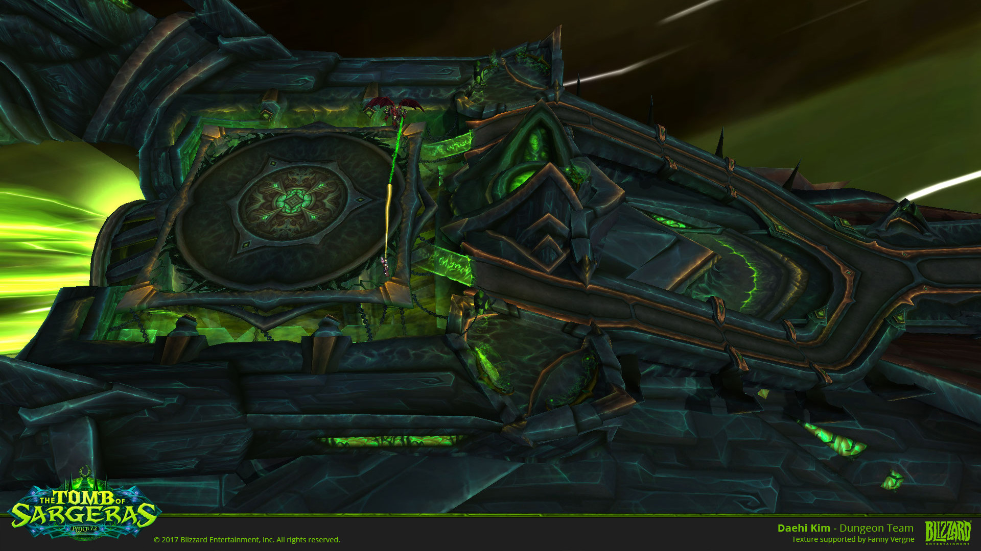 Daehi Kim World Of Warcraft Tomb Of Sargeras Patch