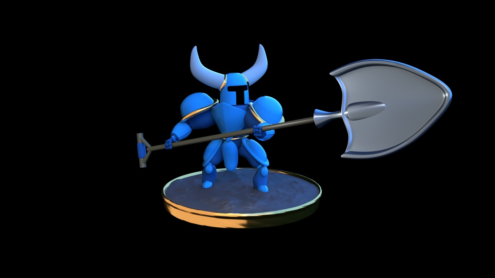 Artstation Fanart Shovel Knight Gianluca Mauriziano