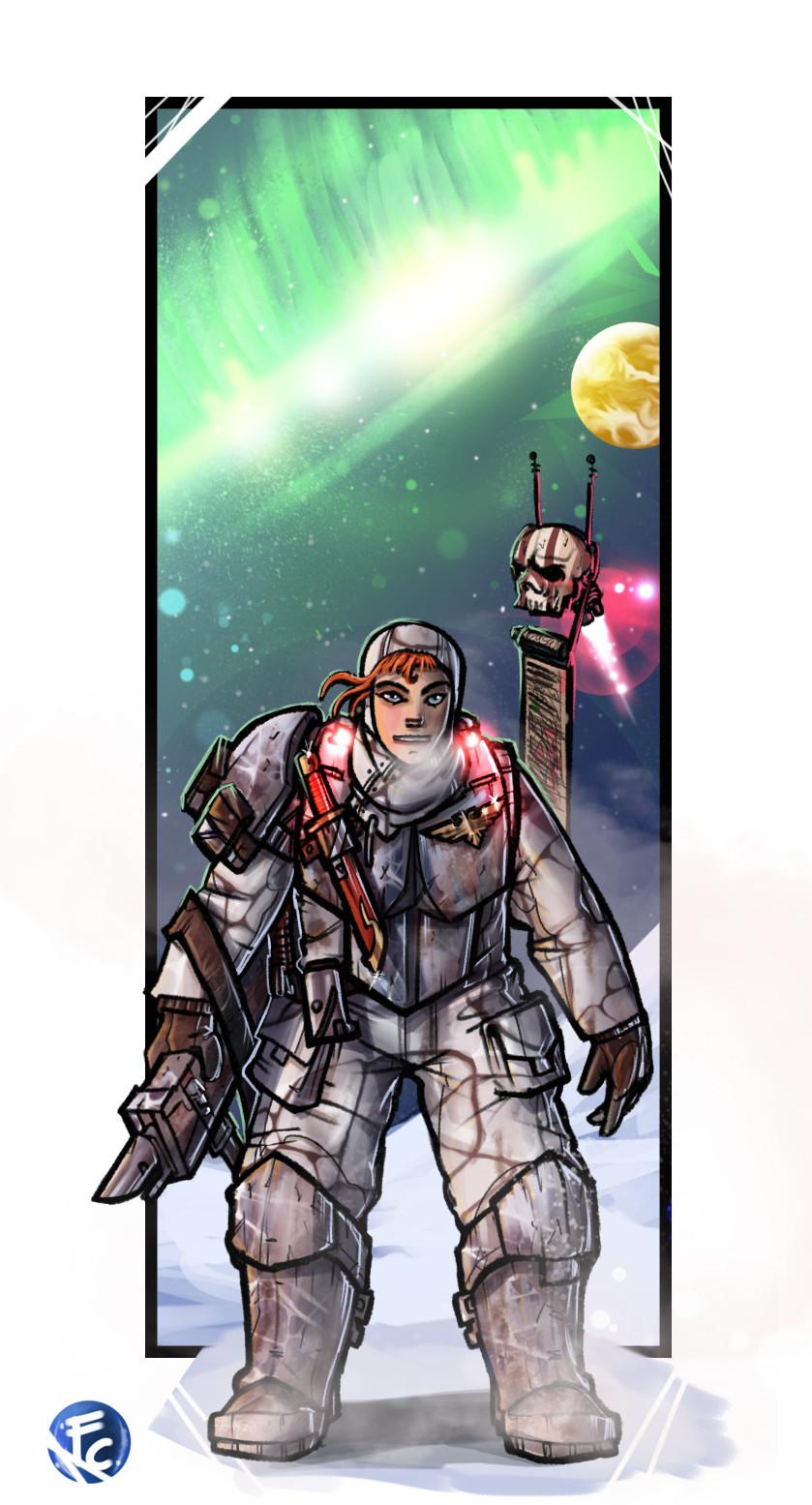 Imperial Guard Guardswoman