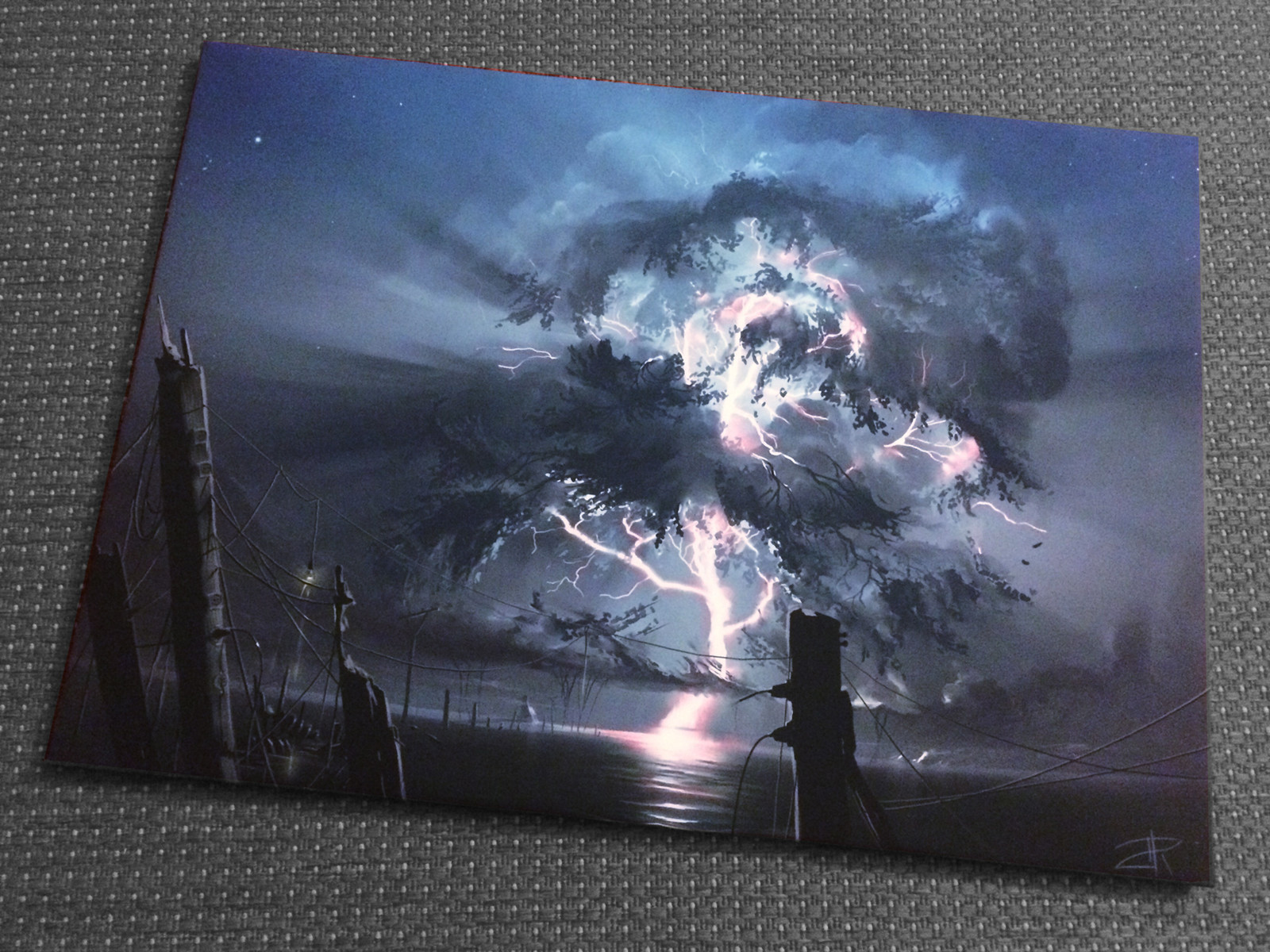 50x70 print of Cumulus Arboreus