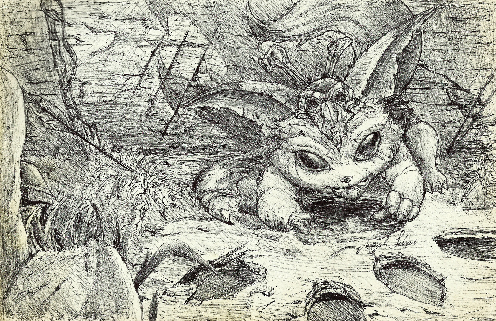 Marcelo Felipe Pereira Borges Gnar Sketch From League Of Legends Here presented 54+ league of legends drawing images for free to download, print or share. marcelo felipe pereira borges gnar
