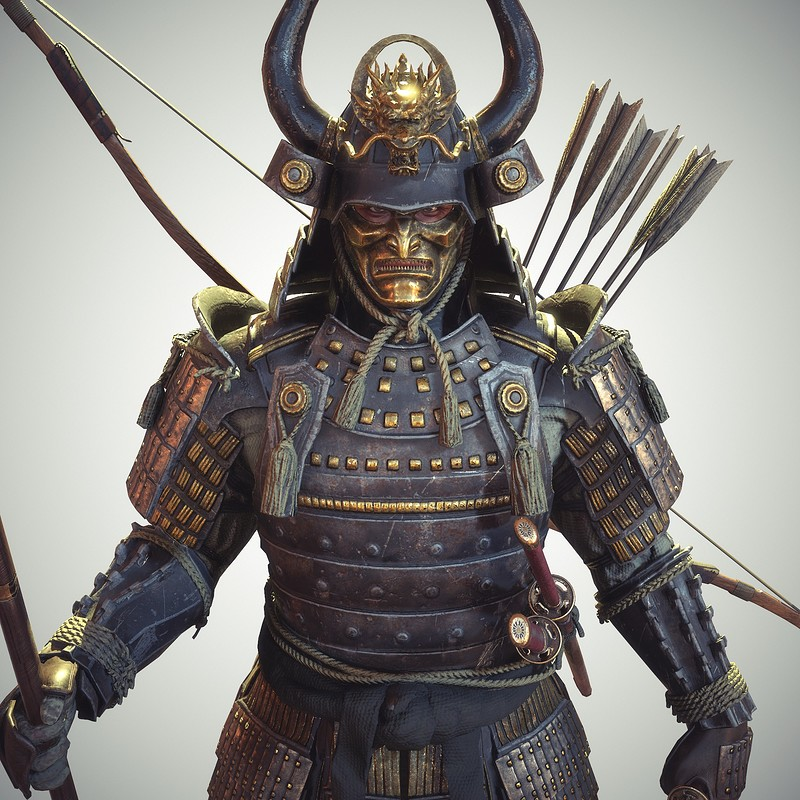 Samurai Real-time Character