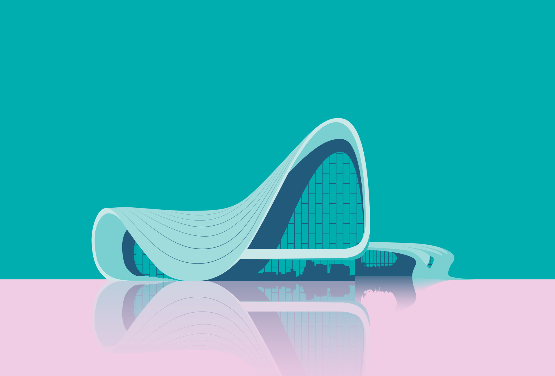 Alex grund heydar aliyev center l