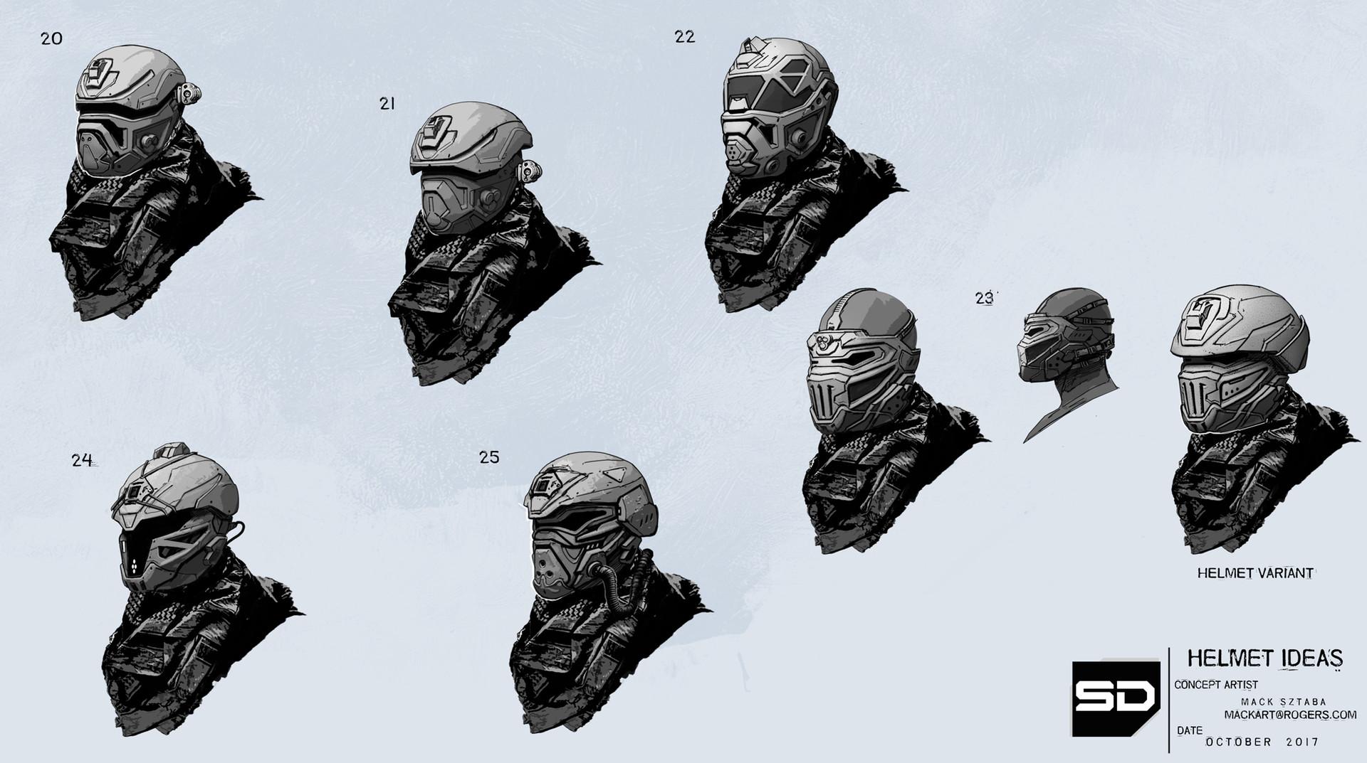 Mack sztaba helmet ideas 4