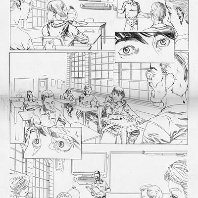 Sidney teles 017 rise of super heroes chapter 01 page03 pencil