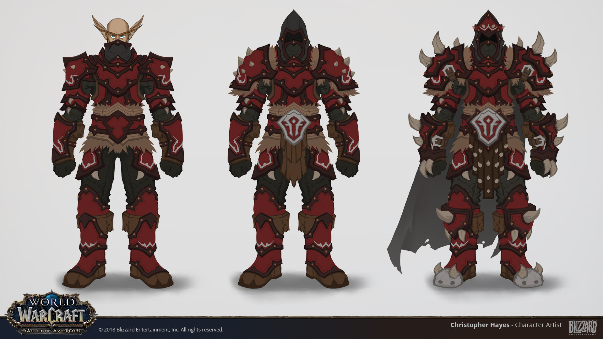 Christopher hayes bfa leather horde warfronts