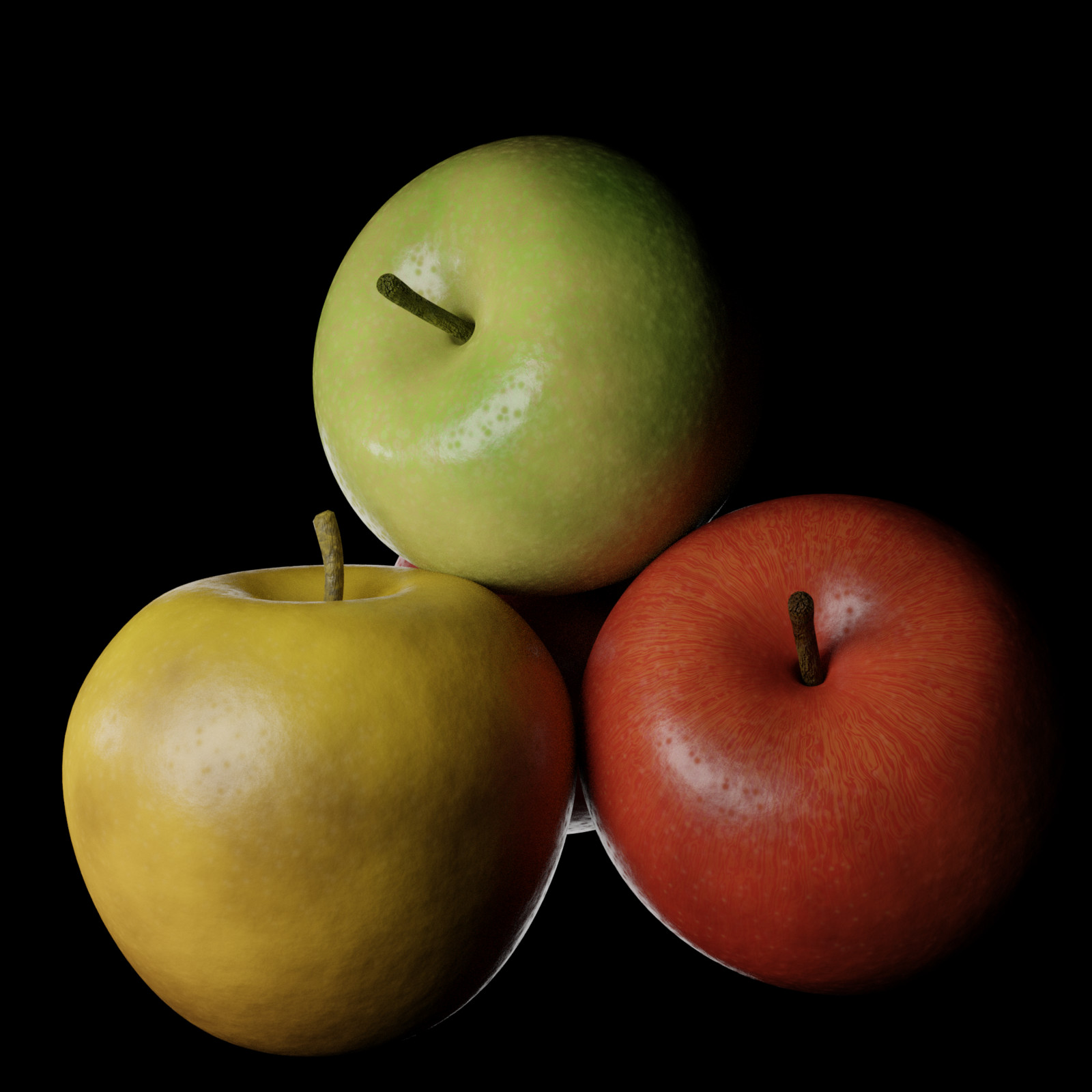 Render Apple peel Shader
