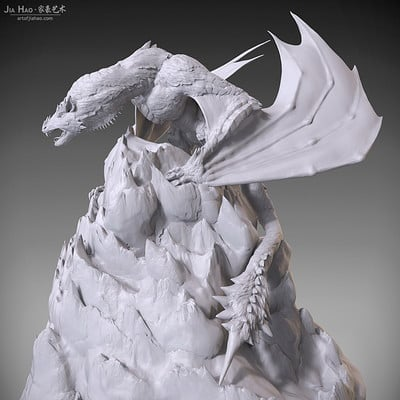 Jia hao 2018 snowdragon digitalsculpting 399