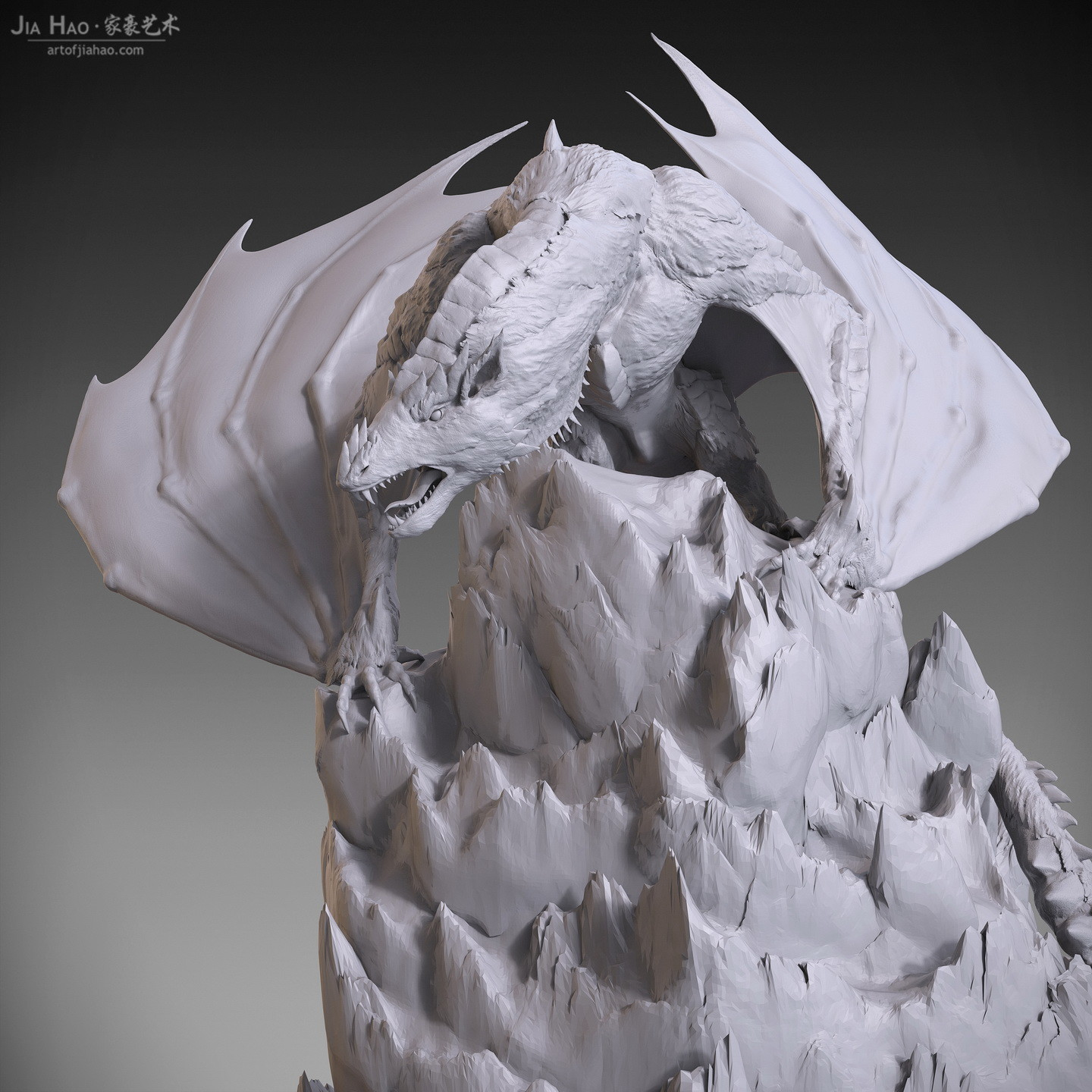 Jia hao 2018 snowdragon digitalsculpting 402