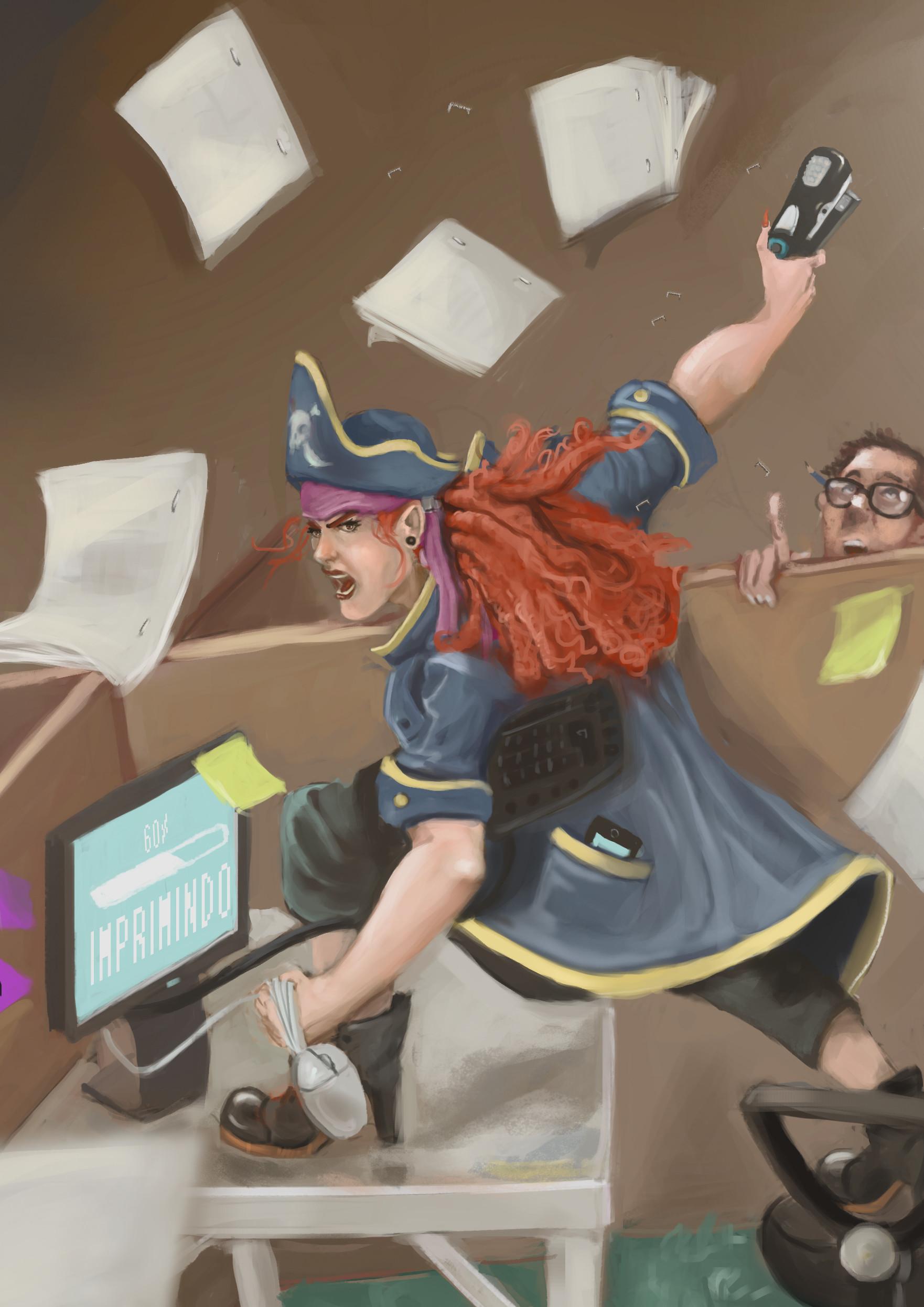 Euller pacheco verbo grampeadora pirata fit
